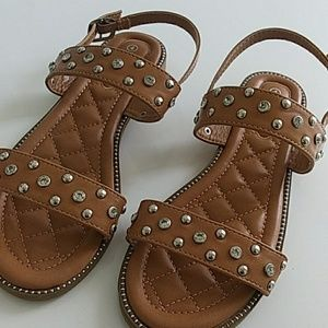 Other - Girls studded jewelled sandals 4